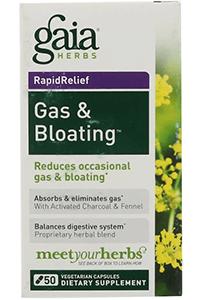 Gaia Herbs, Средство от газов и вздутия