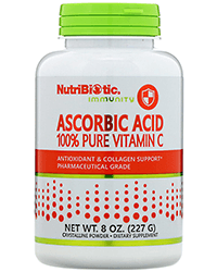 NutriBiotic, Immunity, Ascorbic Acid чистая