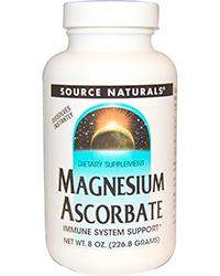 Source Naturals, Magnesium Ascorbate