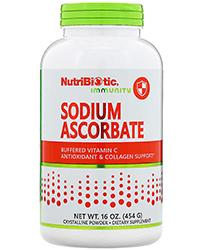 NutriBiotic, Immunity, Sodium Ascorbate