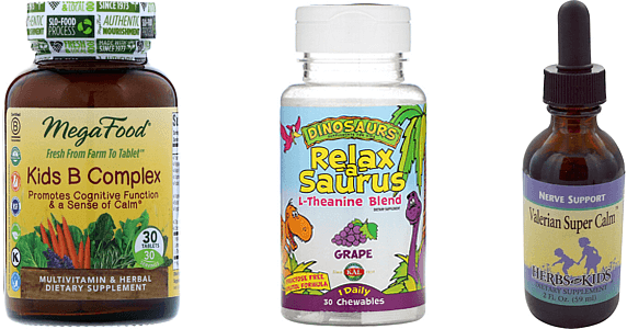 reducing anxiety and stress in children iherb