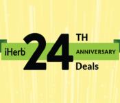 Ежедневные скидки 24% iHerb в сентябре. Ранний доступ к акциям!