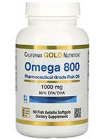 California Gold Nutrition Omega 800