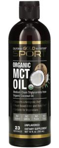 California Gold Nutrition, органическое масло MCT