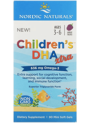 Nordic Naturals, Children's DHA Xtra, Ages 3-6, Berry